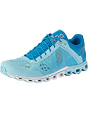 ON Women's Cloudflow Running Shoes, Blue/Haze, 7 AU