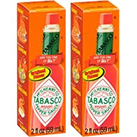 Tabasco Original Flavor Pepper Sauce, 2 oz (2 Pack)