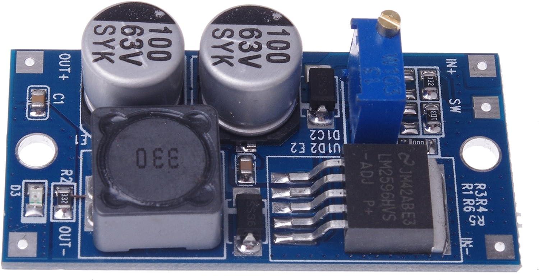 Buck Low Ripple Linear Regulated Power Supply LM317 Module DC 63V-4.5V to 60V-3V