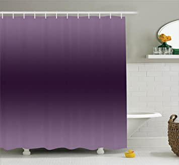 Amazoncom Ambesonne Ombre Shower Curtain Hollywood Glam Show
