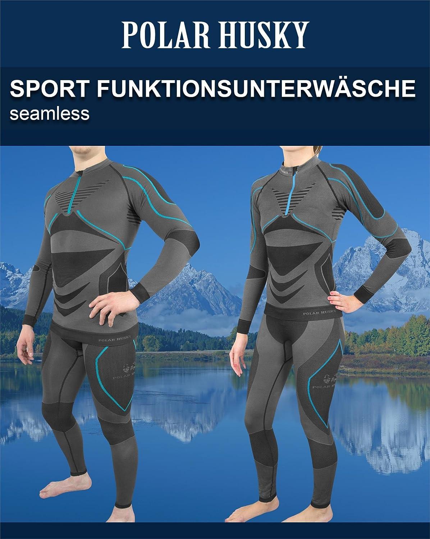 471c055dea5960 Polar Husky® Sport-Funktionsunterwäsche-Set für Damen und Herren   Amazon.de  Sport   Freizeit