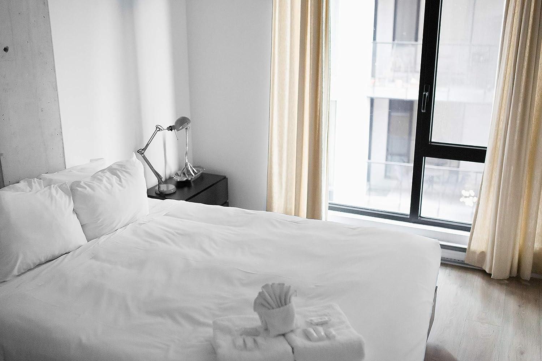 Full White Tache Home Fashion 505-CW-BSS-Full 3-4 Piece Sheet Set