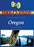 Bike-O-Vision - Virtual Cycling Adventure - Oregon - Perfect for Indoor Cycling and Treadmill Workouts - Cardio Fitness Scenery Video (Fullscreen DVD #12)