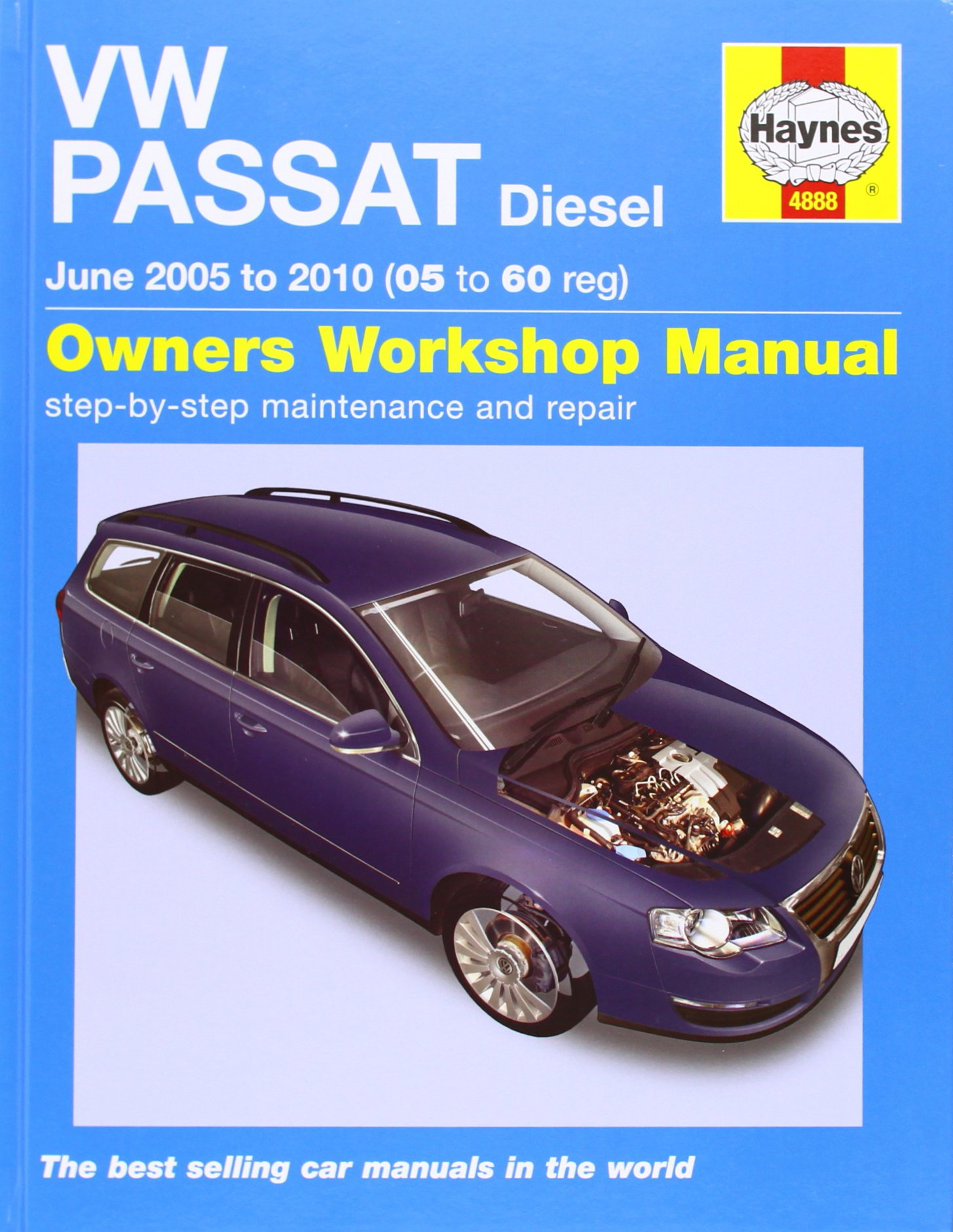 VW Passat Diesel Service and Repair Manual: 2005 to 2010 (Service & repair  manuals): Amazon.co.uk: Martynn Randall: 9781844258888: Books