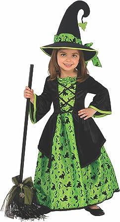 Rubie's Green Witch Girls Costume