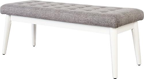 Crosley Furniture Landon Upholstered Bench