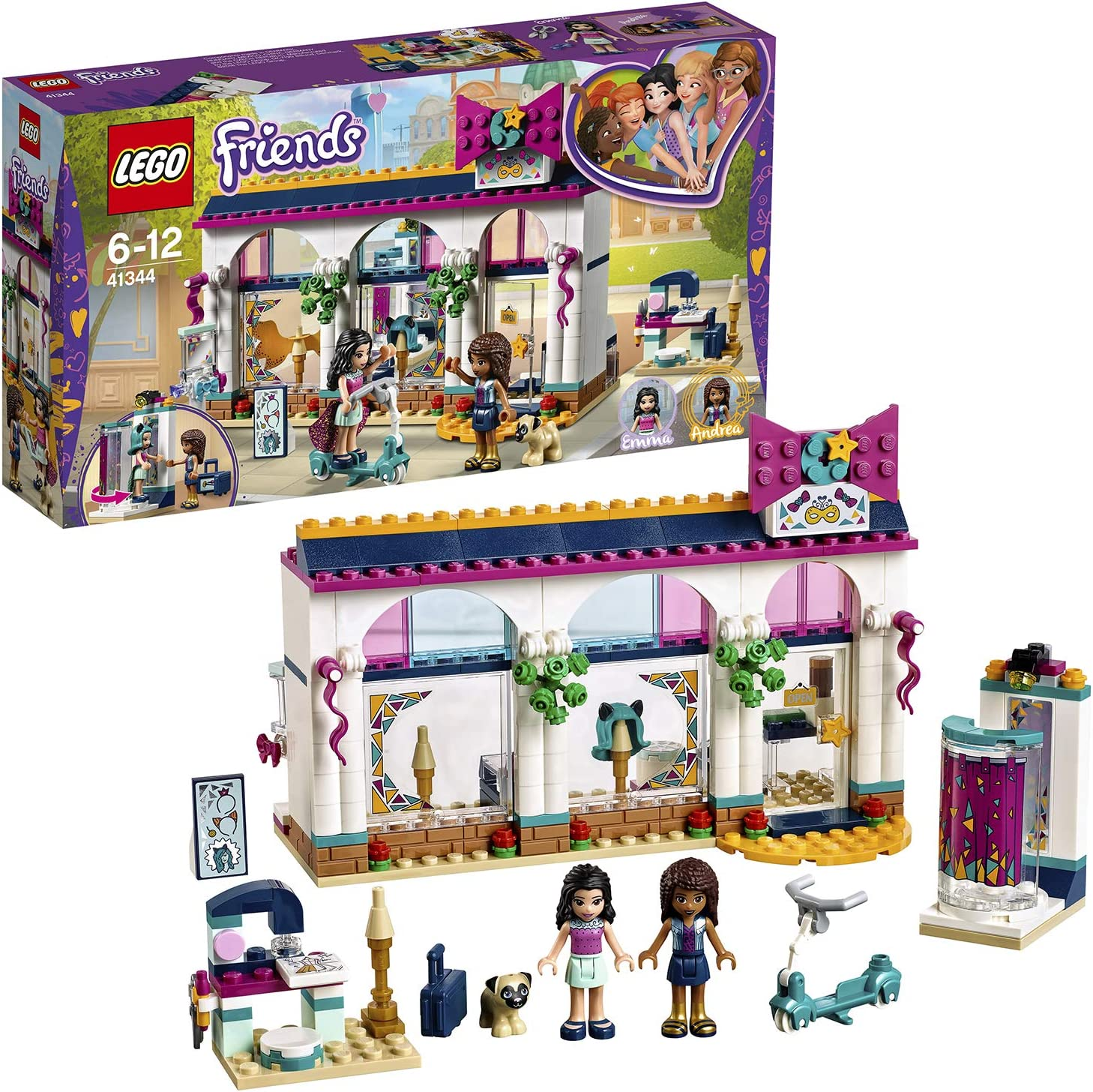 LEGO Friends Andrea39;s Accessories Store 41344