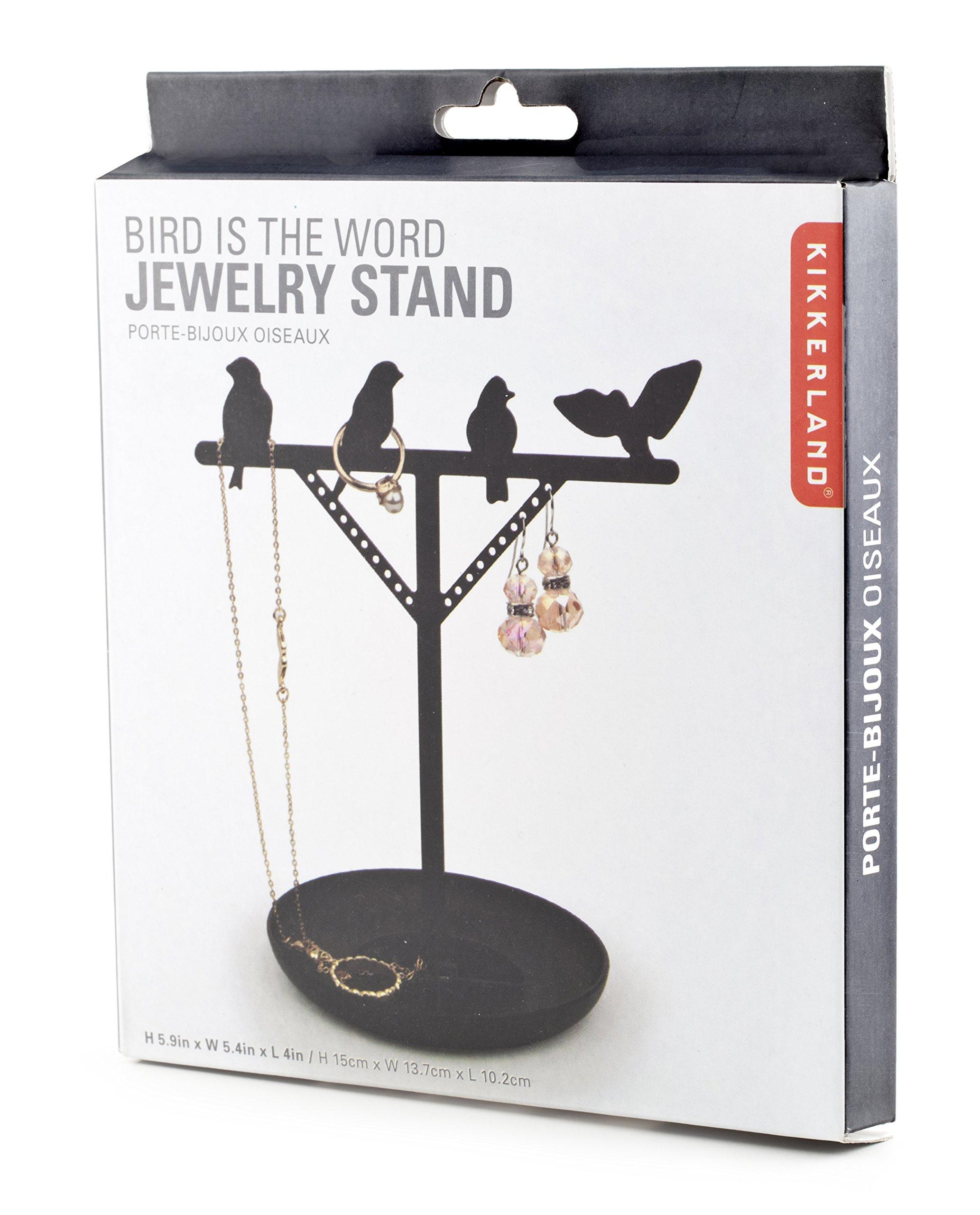 Kikkerland Jewelry Holder, Pack Rack