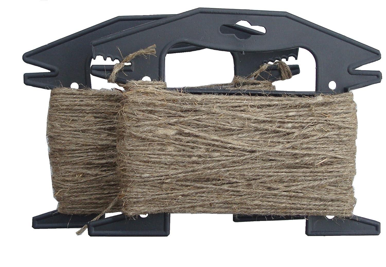1,5 mm MIXTRADER 100 m Cuerda de Lino Natural