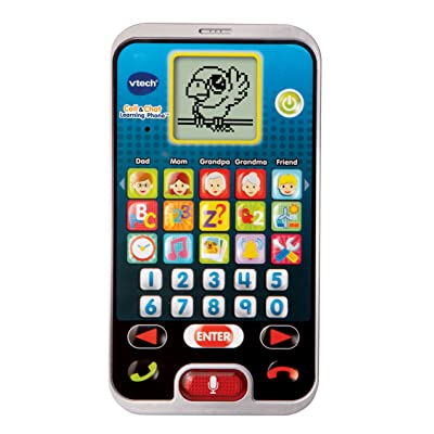 VTech Call & Chat Learning Phone, Black: Toys & Games