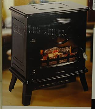 Amazon.com: Decor Flame Electric Fireplace Heater Stove 1400w 4200 Btus: Home & Kitchen