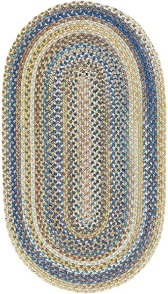 Capel Rugs Kill Devil Hill Oval Braided Area Rug