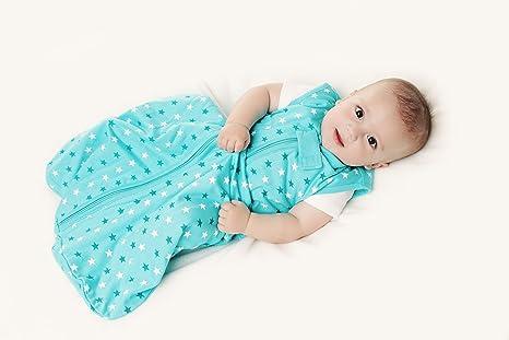 Saco de repetición Invierno – Saco de dormir para bebé 3.5 tog – Teal Stars –