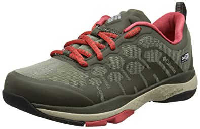 Columbia ATS Trail Fs38 Outdry, Chaussures Multisport Outdoor Femme, Gris (Ti Grey Steel/Storm), 37 EU
