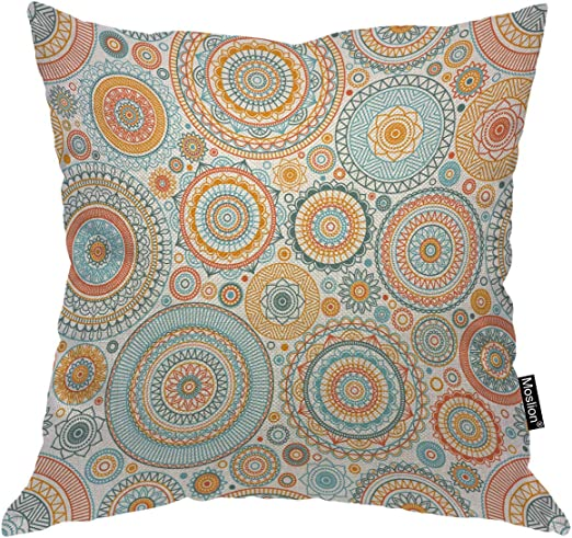 Indian Bohemian Mandala Boho Throw Pillow Cover Case Cushion Home Room Decor US