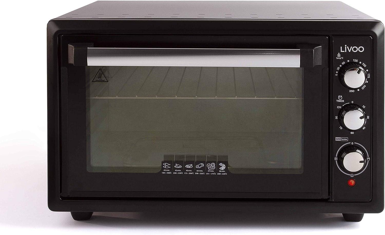 LIVOO DOC212 - Mini horno (34 L): Amazon.es: Hogar