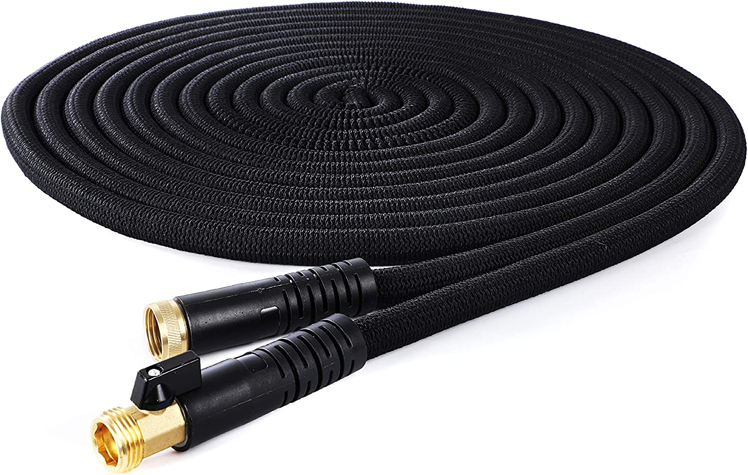 Expandable Garden Hose 100FT, Kink Free Water Hose, Flexible Hose Lightweight Yard Hose, Leak Proof Heavy Duty Expanding Car Wash Hose with Great Pressure, Easy for Mobility and Storage