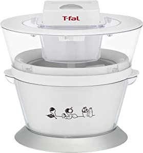 T-fal IG4000 Ice-Cream Maker, 1-Quart, White