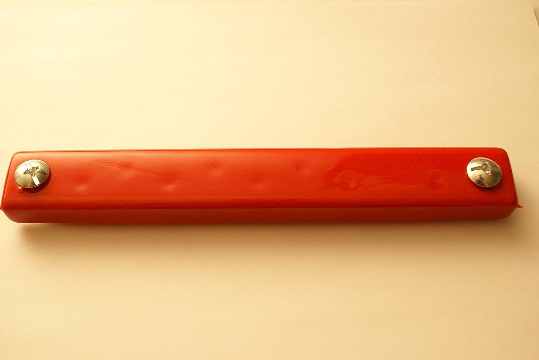 1 Magnet Great Link Rubber Coated Magnetic License Plate Holder Magnet RED