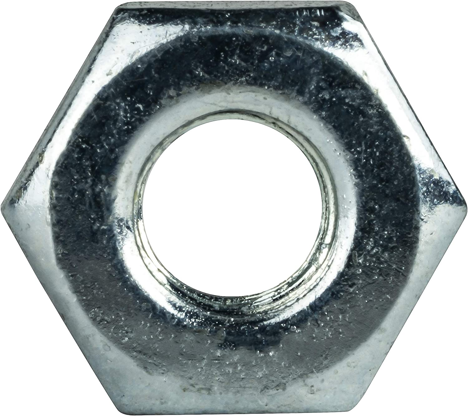 #3-56 Hex Machine Screw Nuts Grade 2 Quantity 100 by Fastenere Electro Zinc Plated Steel /& Clear Finish