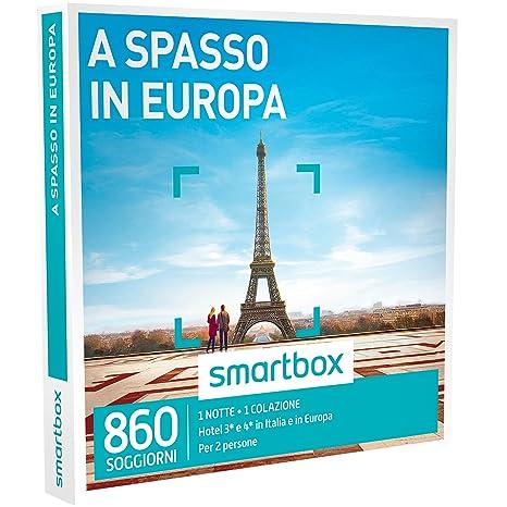 SMARTBOX - Cofanetto Regalo - A SPASSO IN EUROPA - 860 soggiorni in ...