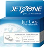 JetZone Jet Lag Prevention - Natural Homeopathic OTC Travel and Jet Lag Remedy - 30 Chewable Tablets - Jet Lag Remedy…