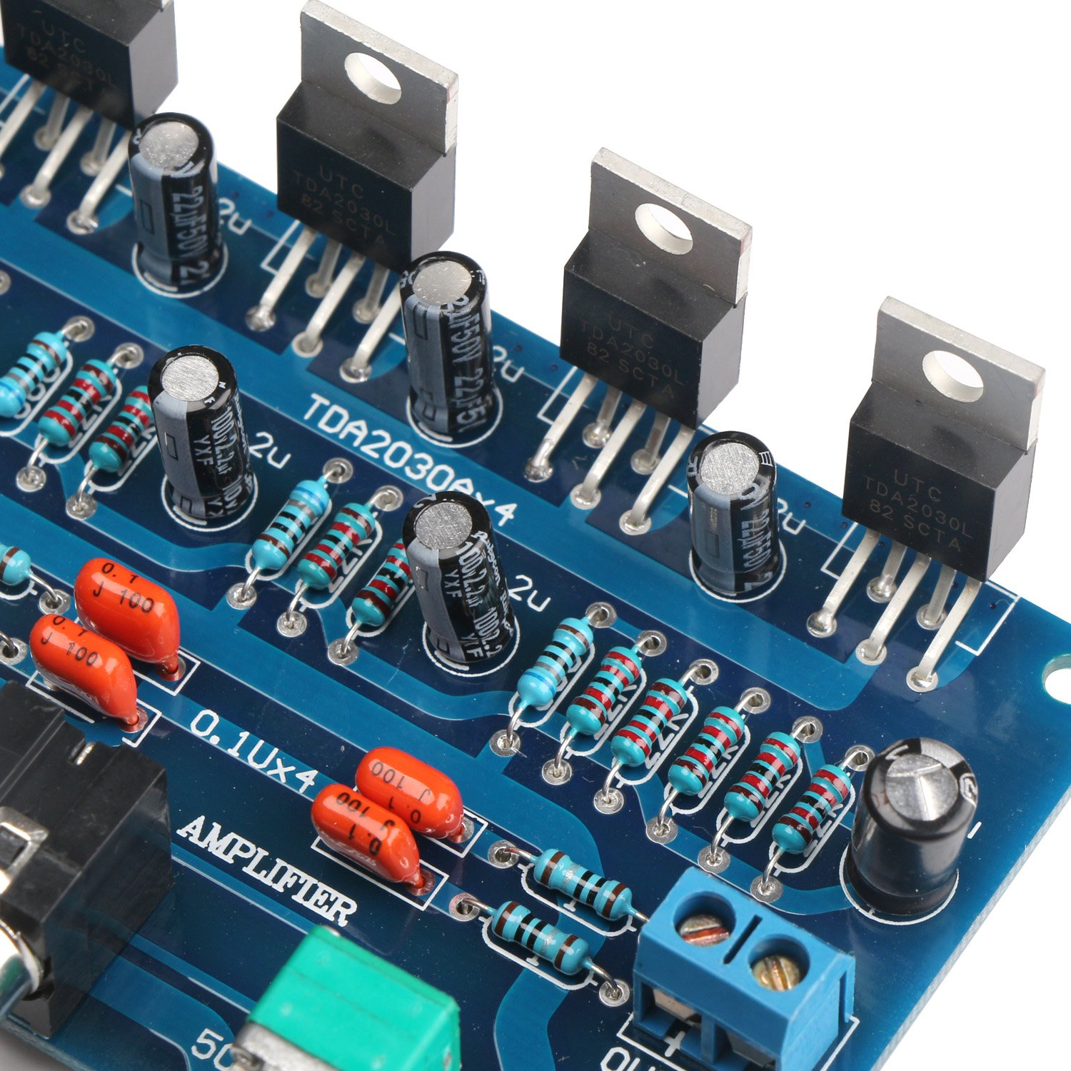 Drok Tda2030a Digital Stereo Audio Power Amplifier 34w34w Pcb For Board Circuit Quotes