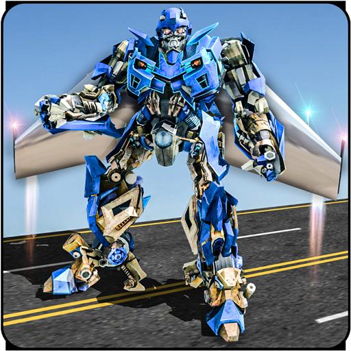 Air Robot Game   Flying Robot Transformation Game