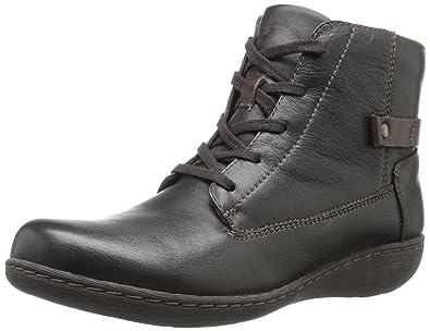 Womens Boots Clarks Fianna Tara Brown