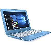 HP Stream 11-ah005na 11.6 Inch Laptop (Aqua Blue) - (Intel Celeron N3060, 2 GB RAM, 32 GB eMMC, Office 365 and 1 TB OneDrive Cloud Storage with 1 Year Subscription, Windows 10 Home)