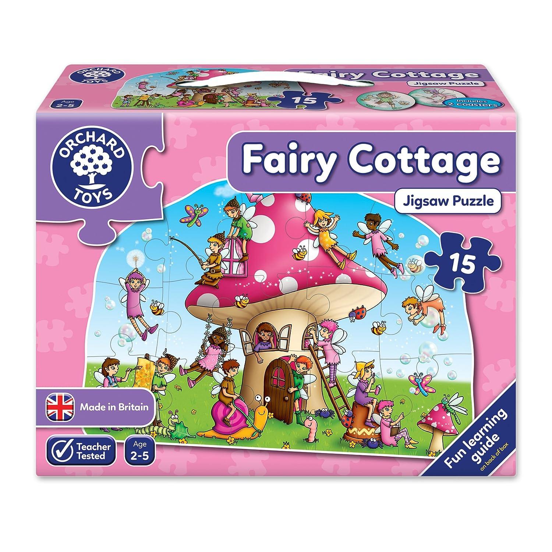 Orchard_Toys Fairy Cottage - Puzle (15 piezas) [importado del Reino Unido]