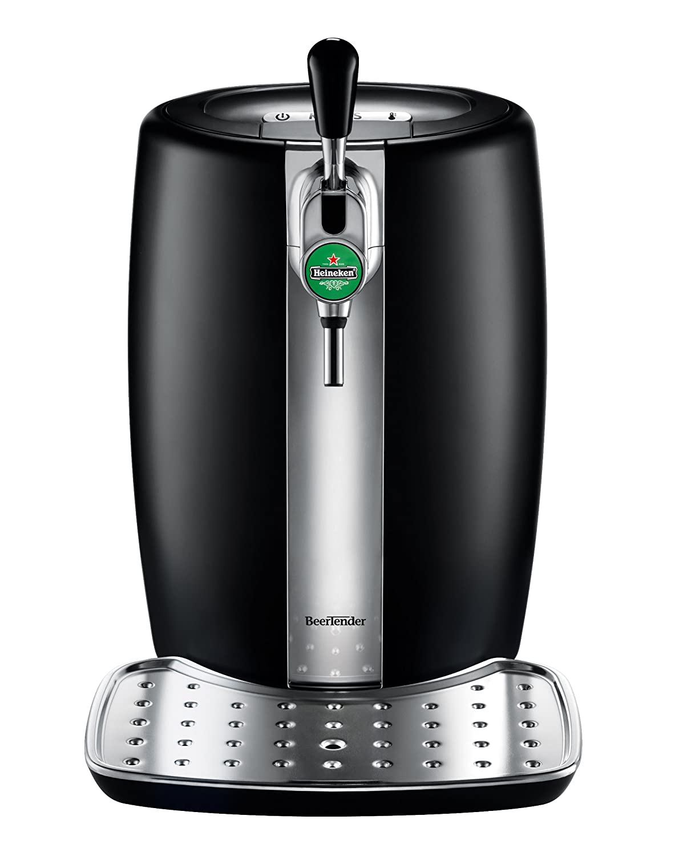 KRUPS and HEINEKEN B100 BeerTender with Heineken Draught Keg Technology,Black