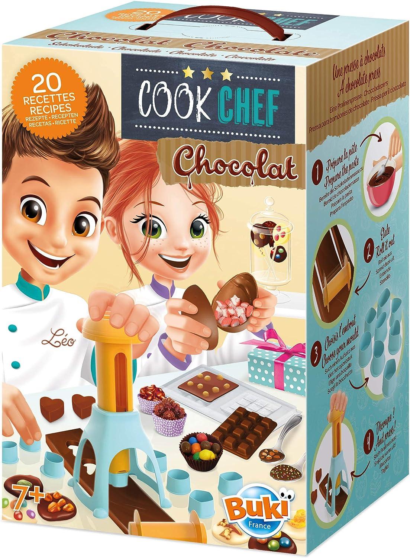 Buki France- Cook Chef Juego para Cocinar, 7 Años, Multicolor (7166)