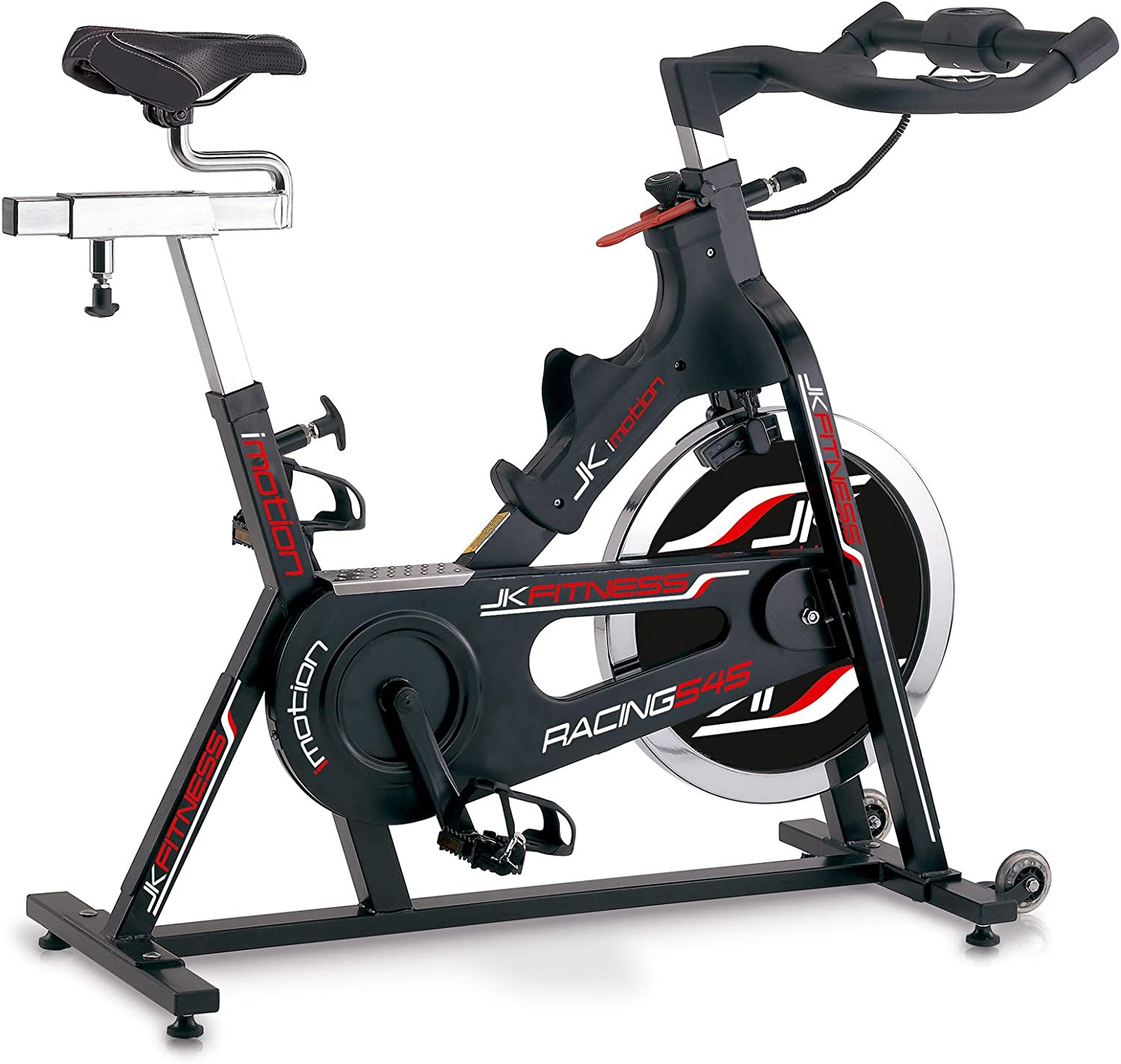 Jk Fitness jk545 Indoor Cycle, Negro: Amazon.es: Deportes y aire libre
