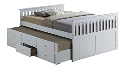Amazon Com Broyhill Kids Marco Island Full Captain S Bed With