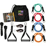 GoFit Extreme Pro Gym Set- Portable Gym and Fitness Equipment,One Size,GF-EPGYM