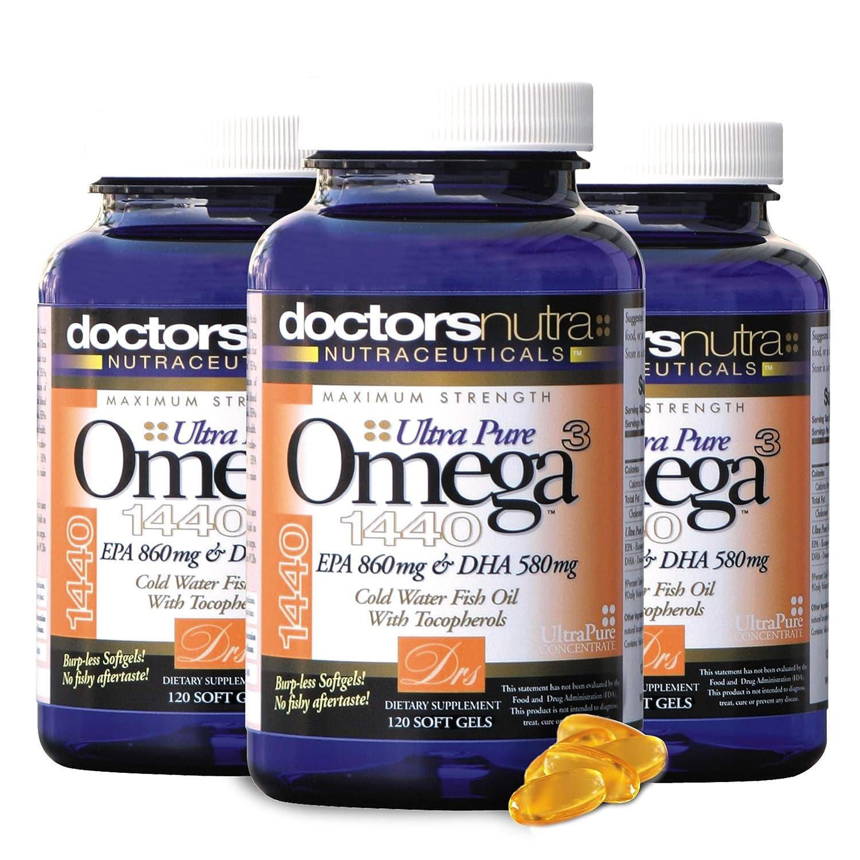 Amazon.com: Omega 3 Aceite de Pescado – 2.800 mg de máxima ...
