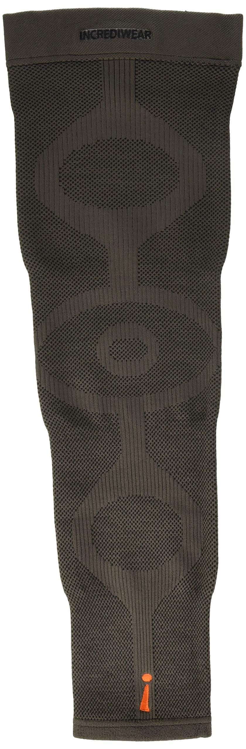 INCREDIWEAR Single Leg Sleeve, Charcoal, Medium, 0.03 Pound