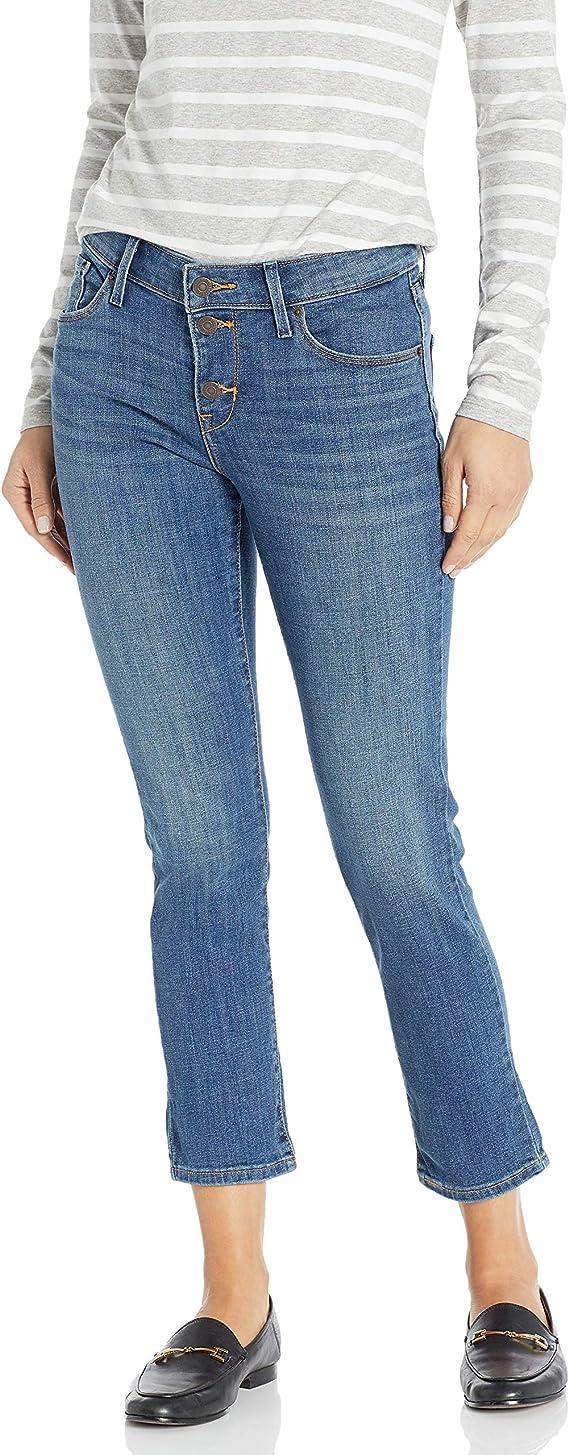 Levi's 李维斯 经典款 Mrs Button 女式九分牛仔裤 26码2.7折$18.48 海淘转运到手约¥176