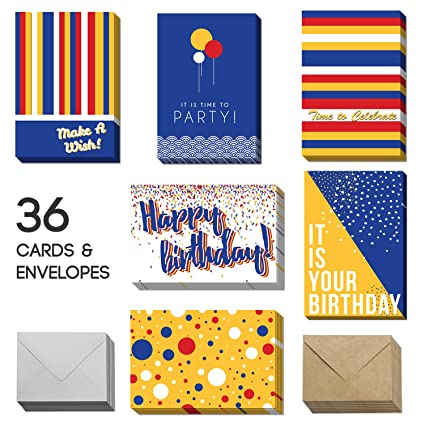 Amazon Happy Birthday Cards With Envelopes