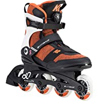 K2 Damen Inline Skates ALEXIS 80 BOA - schwarz-rot-weiß - 30D0774.1.1
