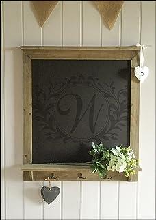 Pizarra Planificadora semanal, marco de madera natural ...