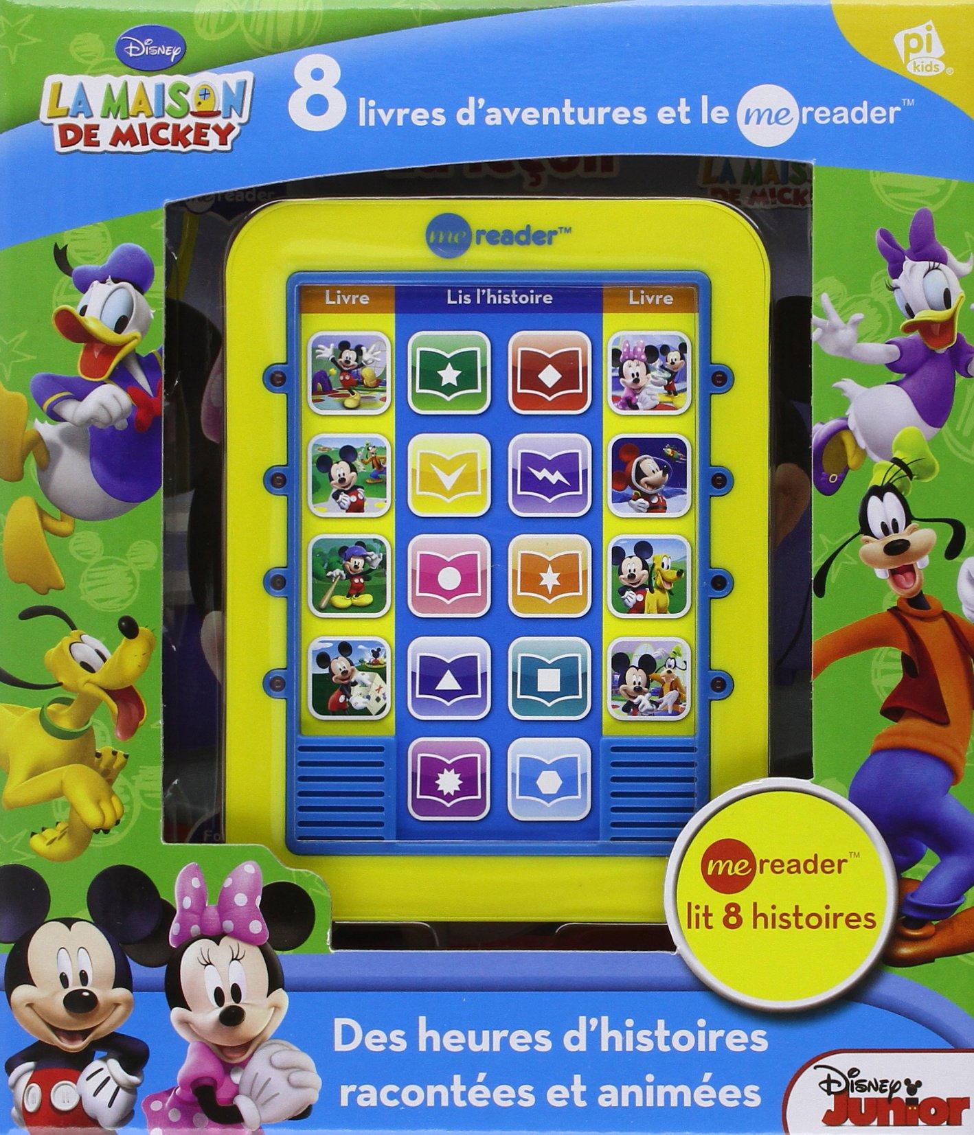 Amazon Fr La Maison De Mickey Coffret Avec 8 Livres D