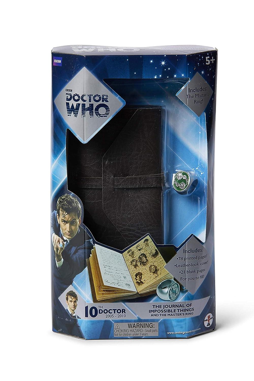 Doctor Who 03410U Diario de Cosas imposibles y Anillo Maestro ...