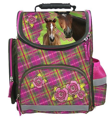 e468932d7e Maxi & Mini HORSES LARGE ERGONOMIC SCHOOLBAG RUCKSACK SCHOOL HORSE PONY  HORSES