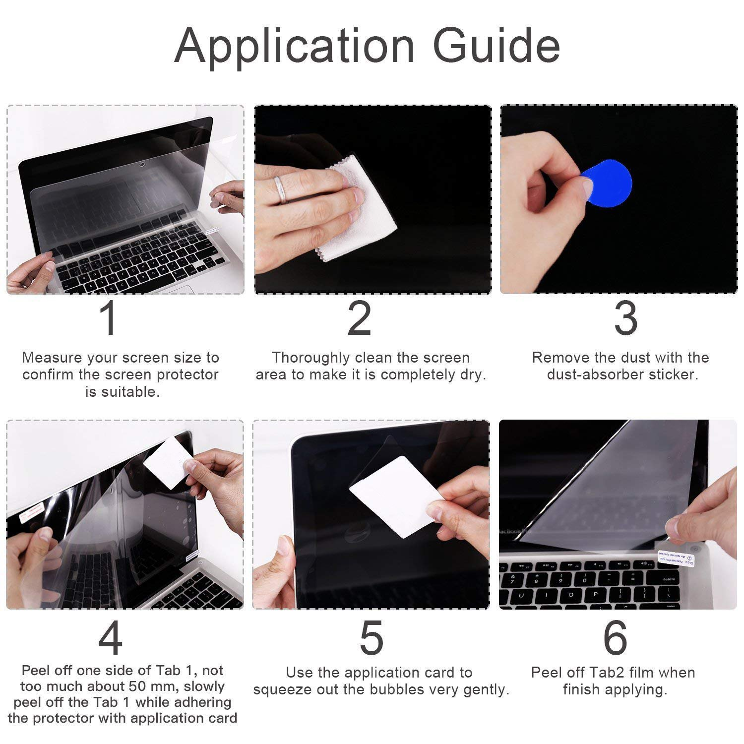 YOUPECK Universal 11.6 inch Laptop Anti Blue Light Screen Protector for 11.6 Inch Notebook, Computer Screen Guard Film for Samsung, HP, Dell, Acer Chromebook R11 11.6, ASUS Chromebook C202SA (2-Pack) by YOUPECK (Image #9)
