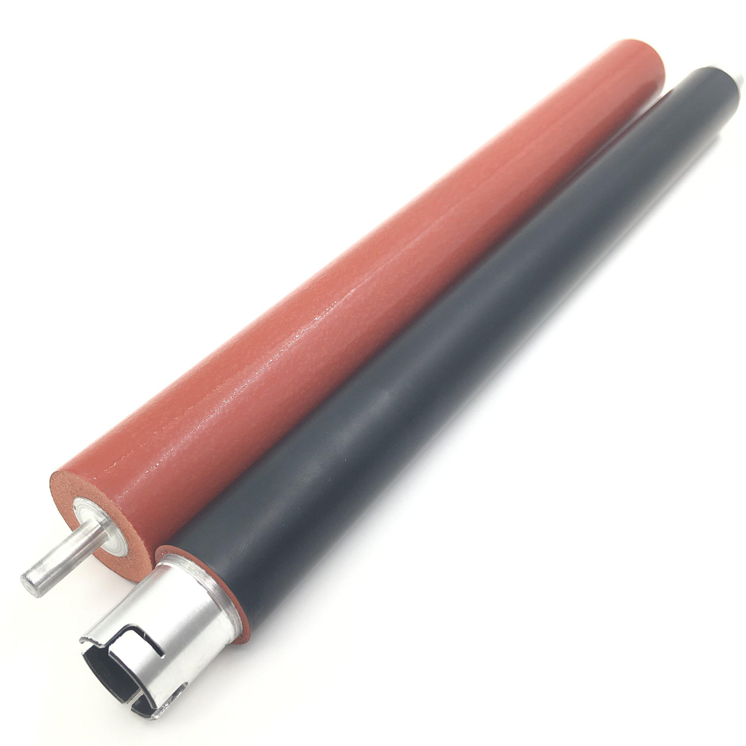 OKLILI LY6753001 LY6754001 Upper Fuser Roller Heat Roller + Lower Pressure Roller for Brother HL3140 HL3170 MFC9130 MFC9330 MFC9340 HL3150 MFC9140 HL3100 DCP9020