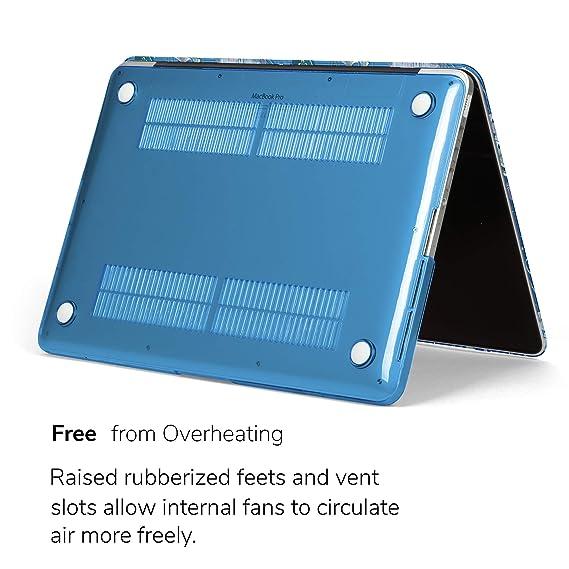 GMYLE - Carcasa rígida para MacBook de 13 Pulgadas Azul Jellyfish Pattern MacBook Pro Retina 13