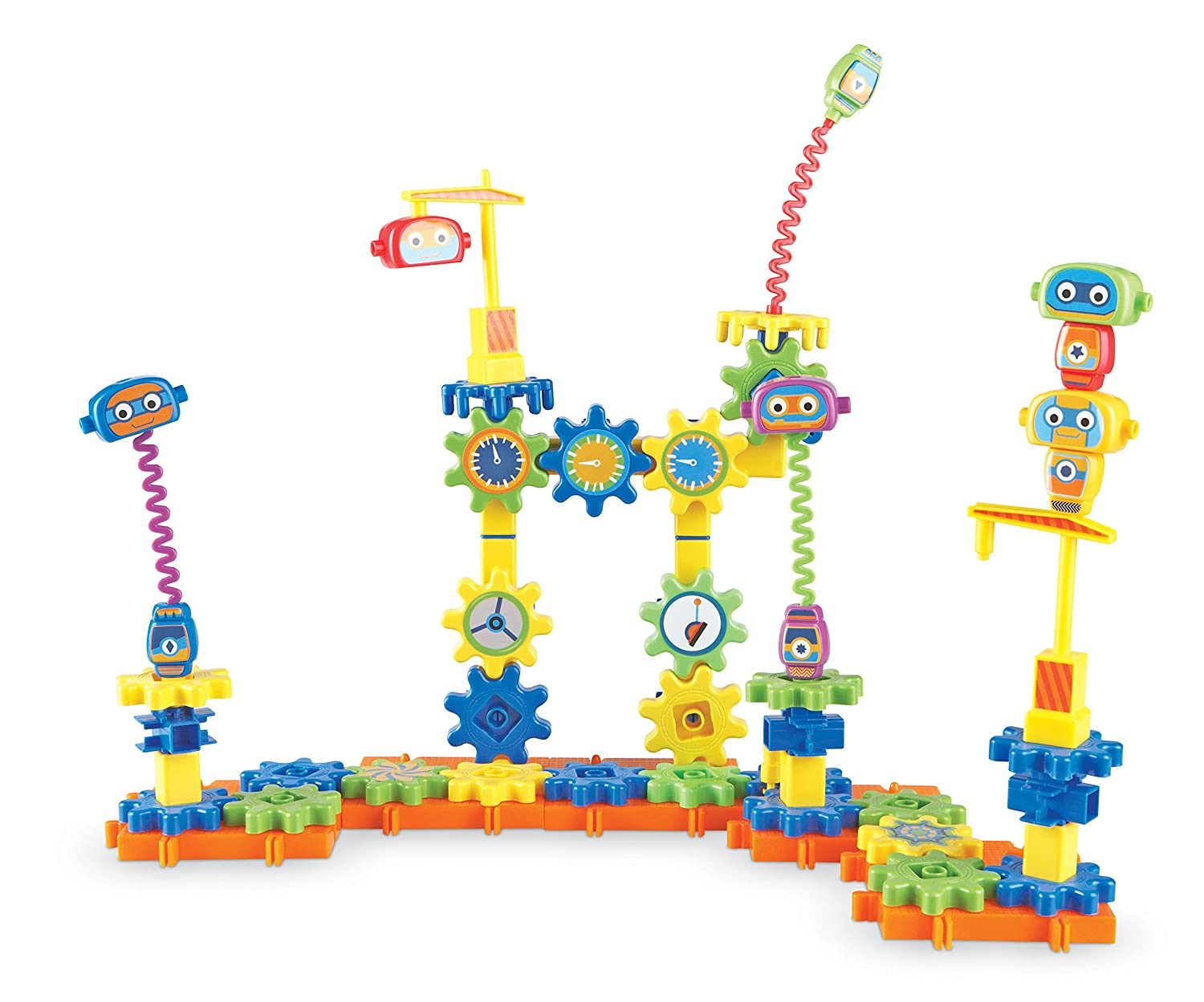 Learning Resources Gears! Gears! Gears! Robot Factory Building Set, 80 Pieces Review