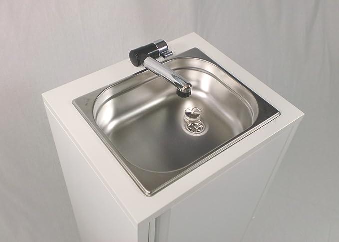 Warmwasser  Mobiles Handwaschbecken  Waschbecken  Imbissstand Wochenmarkt 1a